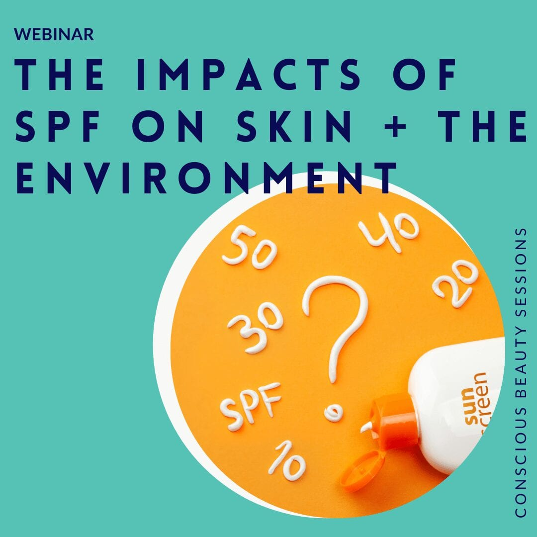 The Impacts of SPF On Skin + The Environment graphic