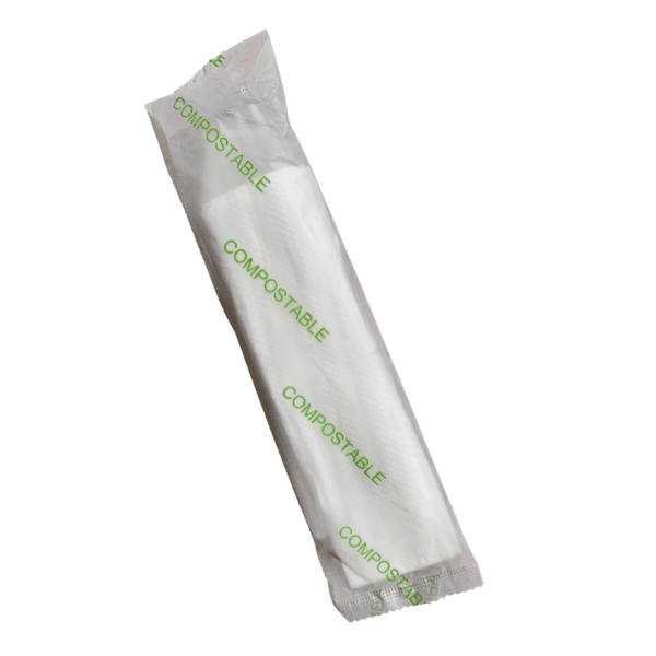5-in-1 CPLA Commercially Compostable Cutlery Packs